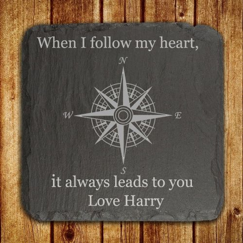 Personalised When I Follow My Heart, It Always Leads To You